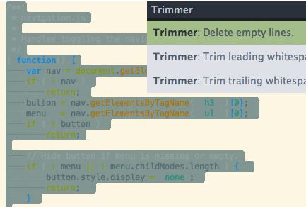 Features of Sublime Text 3