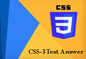 CSS-3-Test-answer