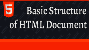 basic structure of an html