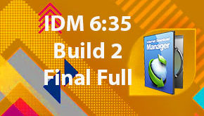IDM 6:35 Build 2 Final Full Version